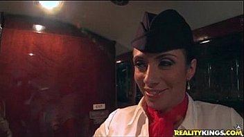 Watch Ariella Ferrara plane sex preview