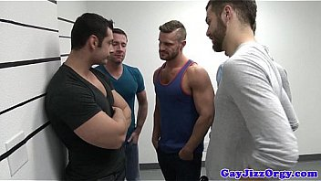 Gaysex Hunk Gaybanged And Jizzed On