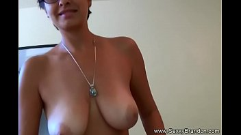 Wife flashing boobs in public