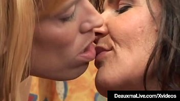 deauxma Lesbisk porno