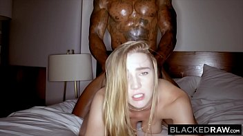 BLACKEDRAW Cheating girlfriend loves her muscular big black lover