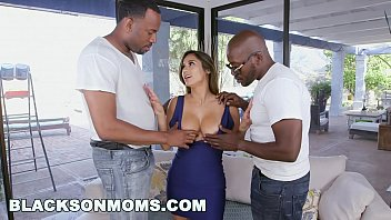 Watch BLACKS ON MOMS - Sexy MILF Gets Her Pussy Pounded With 2 Big Black Cocks preview