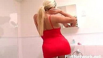 Amazing ass blonde with big tits naked