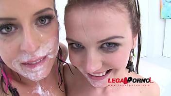 Watch TEEN SLUTS Timea Bella & Daniela Rose extreme fucking with cream (anal teen cream enema & an preview