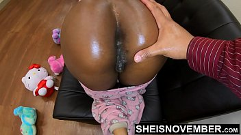 Don't Tell My Wife I Anal Fucked Her Daughter, Innocent Black Step Daughter Msnovember Brutal Sodomy By Step Dad, Curvy Ebony Booty Out In Pajamas On Sheisnovember