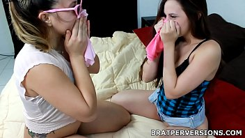 Not Lesbian Babes and their Dirty Panties Games