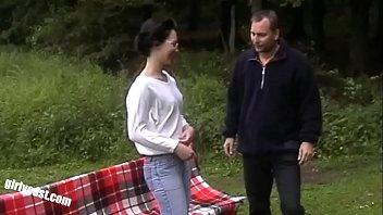 Lisa & her hubby outdoor wifesharing