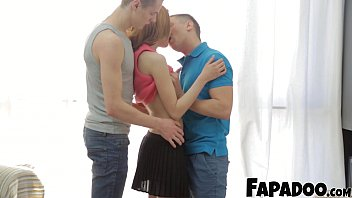 FAPADOO 4K – May Be Two Dicks Are Going To Fit In Her Mouth