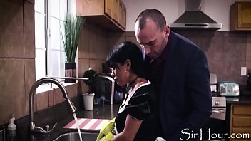 Doing Everything He Shouldn't Be Doing To His Maid