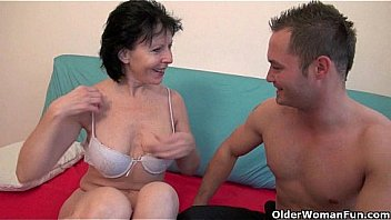 Nothing beats getting your balls drained by grandma