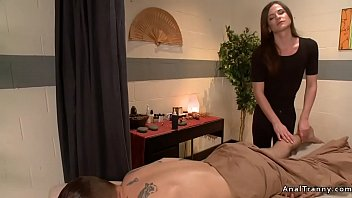 real true amateur tranny gives hay massage