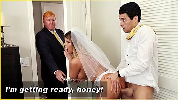 BANGBROS - I Have Sex With My Future Step Mom On Her Wedding Day!