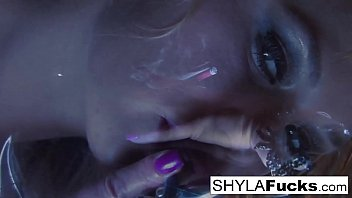 Watch Shyla Stylez loves to puff just for you preview
