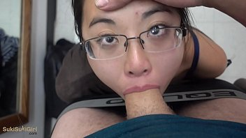 REAL public oral queen sucks her husbands cock while shopping!!! Andy Savage