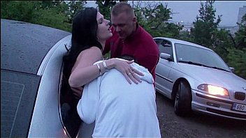 A girl is going dogging in PUBLIC for the first time