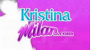 Kristina Milan Fucks A Midget