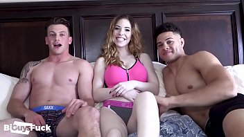 Bisexual Guys Have Fun Together And HookUp with 18yo Teen