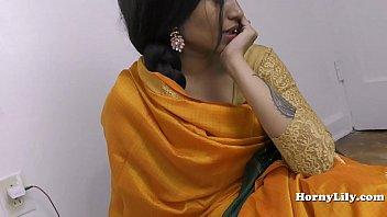 Indian girl humiliates her virgin husband on her wedding night roleplay in hindi