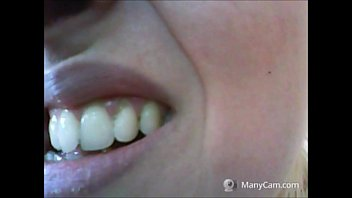 such a beautiful woman should not have such neglected teeth
