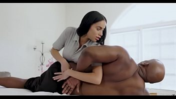 victoria gets drilled by black cock