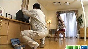 Nanako gets fucked at home