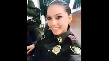 Nidia Garcia Policia Mexicana Baiser...