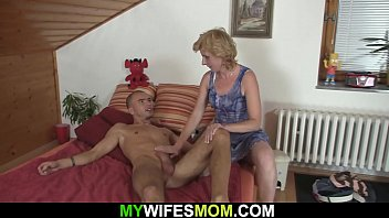 Watch Mom teaches and helps cum son preview
