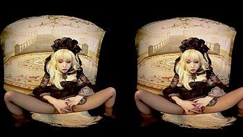 Rebeka Black VR dildo cosplay 382