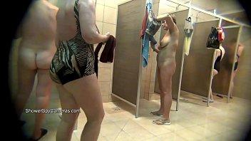 Public Shower Voyeur