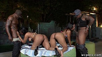 HOT Black Foursome part1