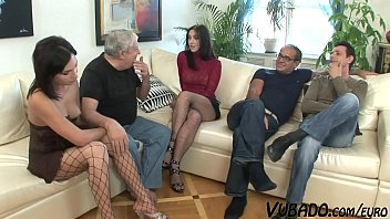 Group Sex Orgy With The Step Sisters