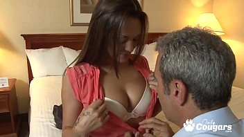 Stepdaughter Olivia Wilder blowing and banging some daddy dick