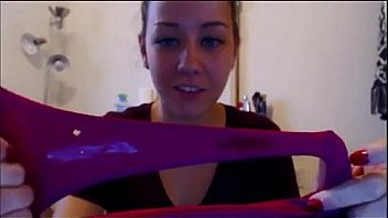 Cam Girl Smelling Dirty Panties - more at exquisitecamgirls.com