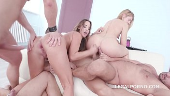 Big Butt Babes Amirah & Sasha Dima Get Their Asses Fisted and Double Fucked