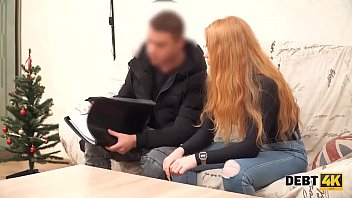 Debt4k._Red-haired_chick_gets_fucked_to_reach_money_for_the_new_4k_TV Thumbnail
