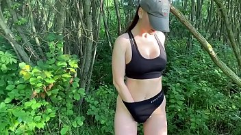 My wife Kleomodel loves public sex in nature. Cum mouth and swallow. Amateur porn