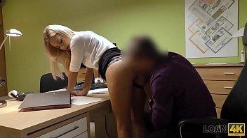 LOAN4K. It is not a porn casting but amateur should fuck loan agent Thumbnail