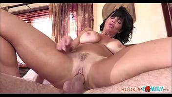 Hot Brunette MILF Stepmom Veronica Avluv Fucked To Orgasm By Nerdy Stepson Thumbnail