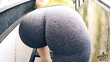amazing round really big butt with natural boobs amp camel toe