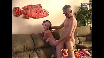 Spreading for daddys DICK and sperm