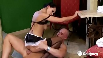 Watch Slutty Maid Angelica Black_Has Some Doggystyle Anal preview
