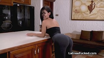 Latina riding cock with her amazing ass