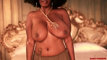 Stacy Adams Black Dynamite Natural Boob Bounce