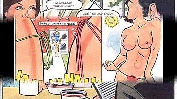 Lesbian MILF Bondage Orgy Comic