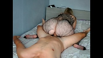 Big ass sexy lingerie fucking in bed with a boyfriend ! She's very hot her big white ass !