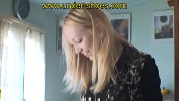 Miss Irina extreme Gum boots trample and bootjob