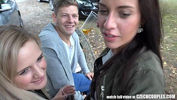 Threesome Sex on Public