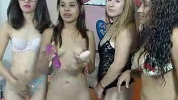 Fire teenager campiges hot show...
