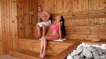 Busty lovers wanna hear patty michova scream while riding veiny cock at the spa