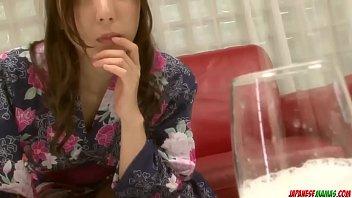 Hot japan girl Mirei Yokoyama suck a dick
